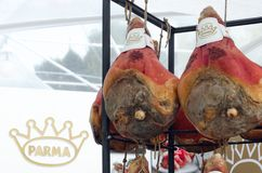 Tradycyjny Parma surowy baleron Fotografia Stock