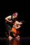Tradycyjny pary Jawa taniec Fotografia Royalty Free