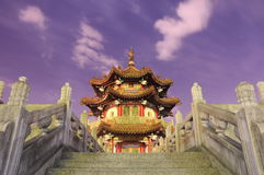 Tradycyjny pawilon przy 228 pokoju parkiem w Taipei Tajwan Zdjęcia Stock