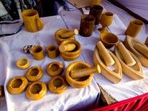Tradycyjny piaska kamienia garncarstwo, India obraz stock
