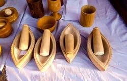 Tradycyjny piaska kamienia garncarstwo, India fotografia stock