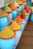 Tradycyjny pikantność rynek w Maroko Afryka Zdjęcie Royalty Free