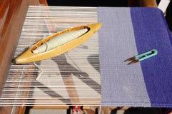Tradycyjny ręki krosienko dla dywanów w Bułgaria Obraz Royalty Free