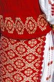 Tradycyjny Rumuński port kobieta clothes-1 obrazy stock