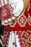 Tradycyjny Rumuński port kobieta clothes-2 obrazy stock