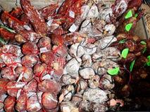 Tradycyjny salami Obraz Stock
