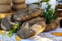 Tradycyjny Sardyński jedzenie Fotografia Stock
