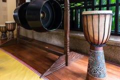 Tradycyjny Sino Kadazan gong obrazy royalty free