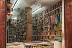 Tradycyjny sklep w Medina Meknes, Maroko Obrazy Stock