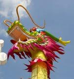 tradycyjny smoka chiński lampion Obrazy Royalty Free