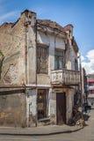 Tradycyjny stary balkon dom w Tbilisi Gruzja 07 05 2017 Obrazy Royalty Free
