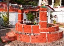 Tradycyjny stary dobrze, Goa, India zdjęcie royalty free