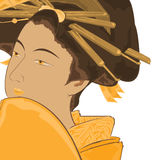 tradycyjny sztuka japończyk Obrazy Stock