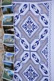 Tradycyjny tablecloth Obraz Royalty Free