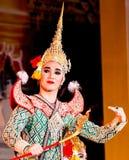 Tradycyjny tajlandzki kostium Zdjęcia Stock
