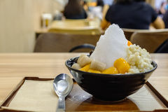 Tradycyjny Tajwański deser z taro piłką, batat piłka, Zdjęcie Stock