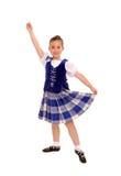 tradycyjny tancerza Irlandczyk fotografia stock