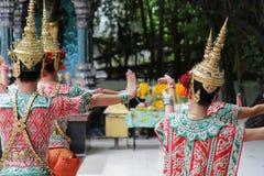 Tradycyjny taniec w Thailand obraz royalty free