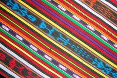 Tradycyjny tkanina wzór w Gwatemala Obraz Royalty Free
