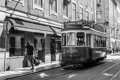Tradycyjny tramwaj w Lisbon Fotografia Royalty Free