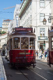 Tradycyjny tramwaj w Lisbon Obraz Royalty Free