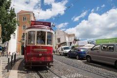Tradycyjny tramwaj w Lisbon Obraz Stock