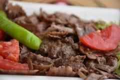 Tradycyjny turecczyzny Doner Kebab grill Zdjęcie Stock