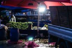 Tradycyjny Turecki bazar W zimie Zdjęcie Royalty Free