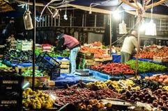 Tradycyjny Turecki bazar W zimie Zdjęcie Stock