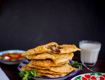 Tradycyjny turecki jedzenie od Eskisehir obraz royalty free
