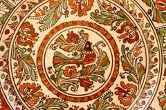 Tradycyjny Węgierski ceramiczny obrazy royalty free