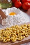 tradycyjny włoski makaron Fotografia Royalty Free
