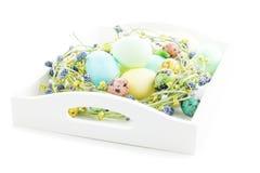 Tradycyjny Wielkanocny skład Zdjęcia Stock