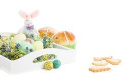 Tradycyjny Wielkanocny skład Fotografia Stock