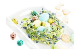 Tradycyjny Wielkanocny skład Fotografia Royalty Free