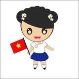 Tradycyjny Wietnam kostium Obrazy Royalty Free