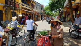 Tradycyjny Wietnamski rynek zdjęcia royalty free