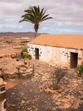 Tradycyjny wyspy kanaryjska gospodarstwa rolnego dom Zdjęcie Royalty Free