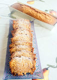 Tradycyjny Żydowski miód Cake-3 obrazy stock