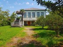 Tradycyjny Zachodni gruzinu dom obrazy stock