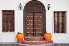 Tradycyjny Zanzibar drzwi Obraz Royalty Free