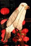 Tradycyjnych Chińskie lampiony obraz royalty free