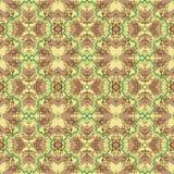 Tradycyjnych kształtów bezszwowy wzór Zdjęcie Royalty Free