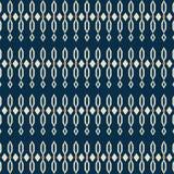 Tradycyjnych kształtów bezszwowy wzór Obraz Stock