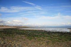 Traeth Crugan - playa de Crugan, en la península de Llyn imagenes de archivo