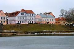 Traetskae区在米斯克,白俄罗斯 免版税库存图片