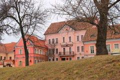 Traetskae区在米斯克,白俄罗斯 库存照片
