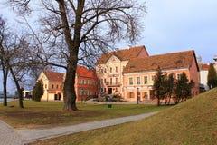 Traetskae区在米斯克,白俄罗斯 图库摄影