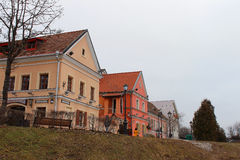 Traetskaedistrict in Minsk, Wit-Rusland Stock Fotografie