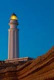 Trafalgar灯塔,卡迪士 库存图片